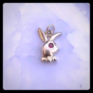 Vintage Bunny Charm